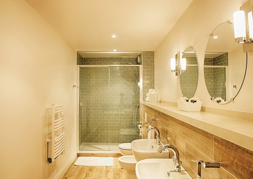 beautiful modern bathrooms in rental units studios and apartments recreational property for sale france halcyon retreat nouvelle aquitaine