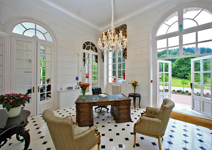 buy property in france with at least 7 yields and 6 weeks personal use at halcyon retreat resort with chateau de la cazine as eye-catcher