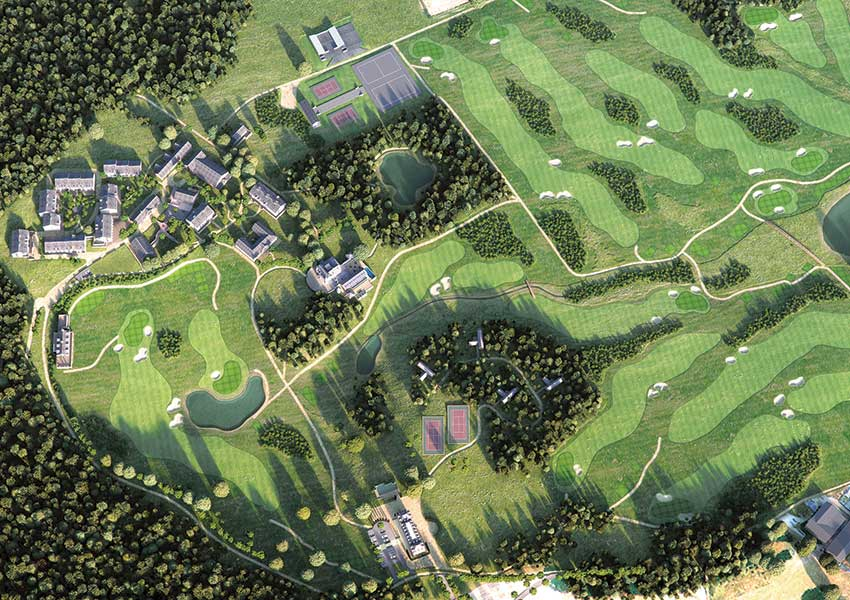 buy second home in france in recreation area nouvelle aquitaine wyndham halcyon retreat golf and spa resort france