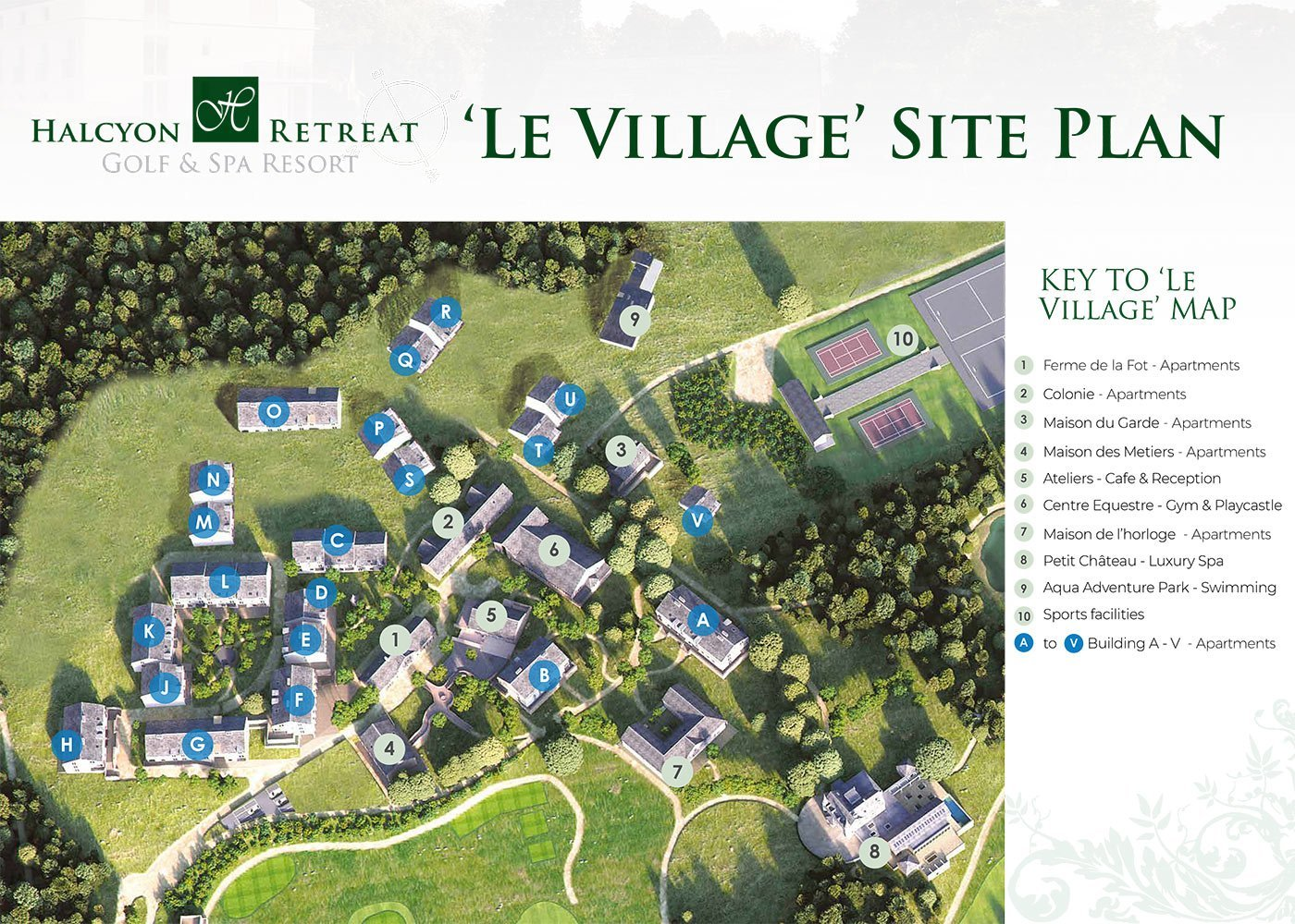 floor plan le village village with proceeds studios and apartments with rental guarantee carefree investing nouvelle aquitaine france