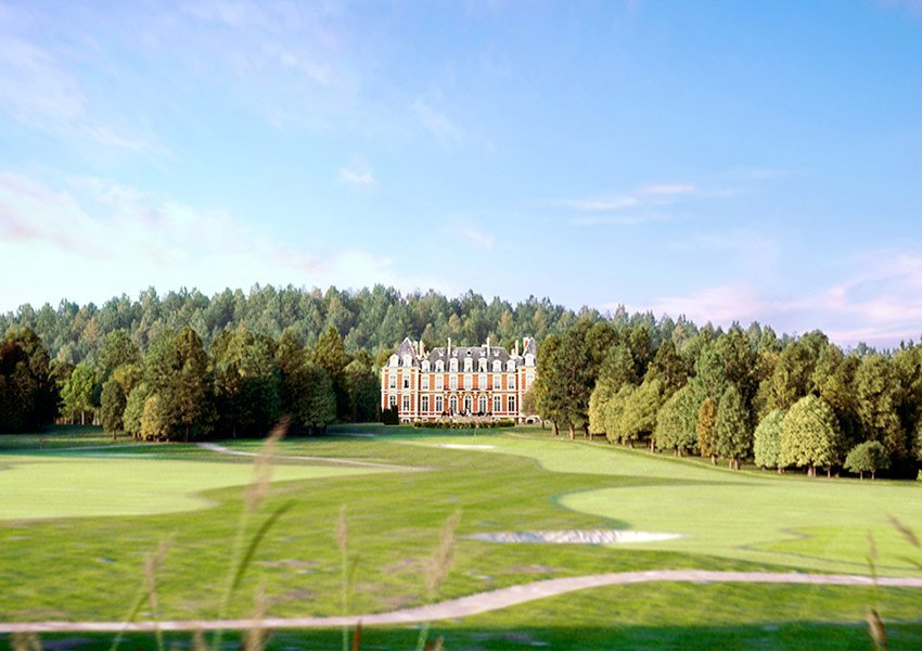 invest in recreational property with golf course in france as an income property nouvelle aquitaine 18 holes golf course