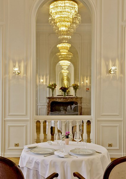 restaurant at chateau de la cazine in luxury resort halcyon retreat golf and spa ideal investment with 7 guaranteed returns