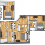 three bedroom apartment investment property with rental guarantee france min.png