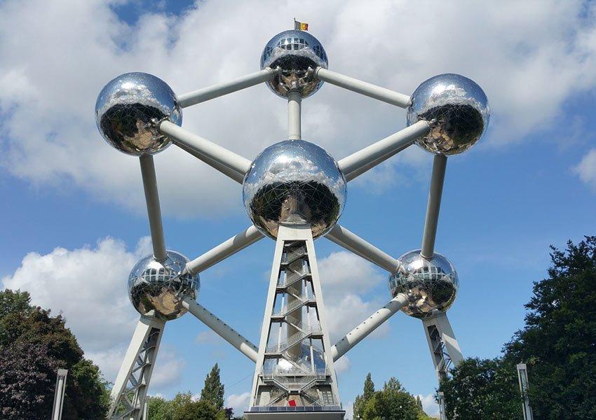 Atomium accroche-regard de Bruxelles-Capitale