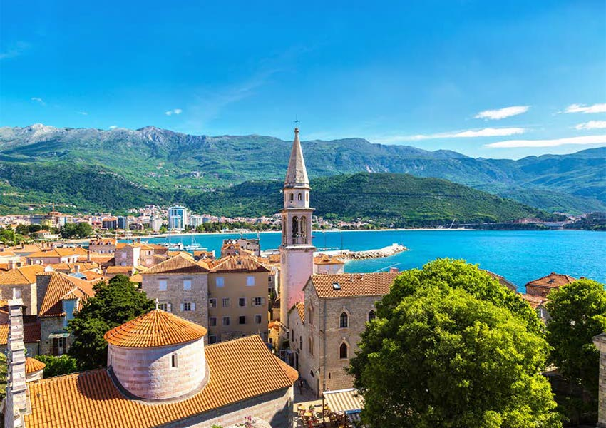 Budva In Montenegro Beautiful Harbour Location Unique Views Lots of History Beautiful Beaches And Nightlife