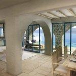 buy samos villa with private infinity pool fantastic panoramic views over bay in aegean sea