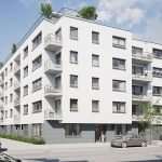 Buying a new flat in Brussels for sale in this new residence in Evere