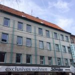 Facade of Building To Be Renovated For Sale As Rental Property In Gelsenkirchen Germany