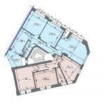 Floor Plan First Floor Rental Property For Sale In NRW Hagen Germany