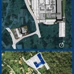Floor plan new residence with studios and flats for sale in Tivat Montenegro
