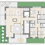 Floor Plan Penthouse Apartment For Sale in Block B Watermael Forest View