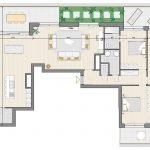 Floor Plan Penthouse For Sale Block B Watermael Forest Forecourt