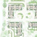 Floorplan Penthouses For Sale Upper Floor of Buildings Watermael Boitsfort