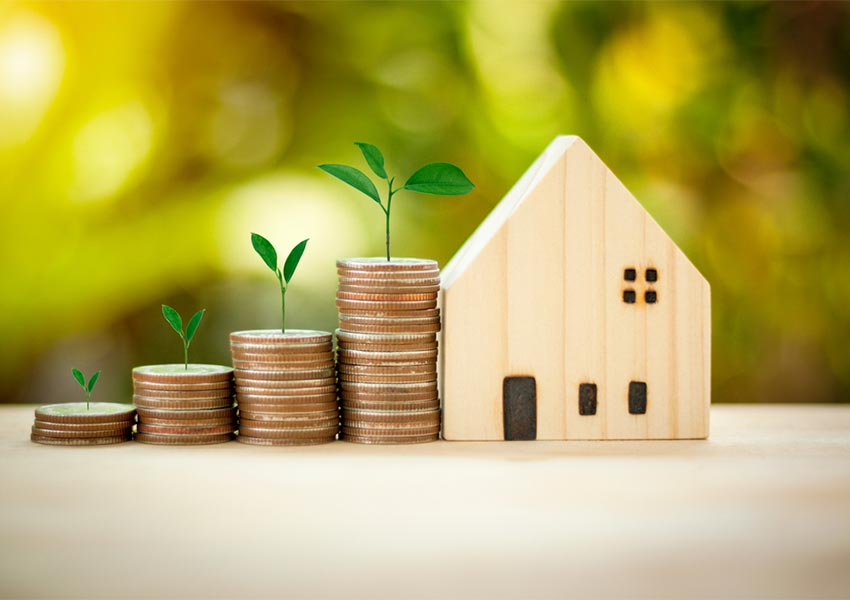 focus on incoming rental cash flows and not on potential value appreciation