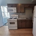 Fully Fitted Kitchen With Stove Oven Microwave Freezer And Refrigerator