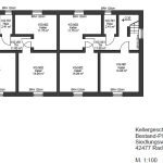 Ground floor plan Investment property in Germany in Radevormwald for sale