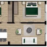 Ground Plan 2 Bedroom Apartment With Garden For Sale Tivat