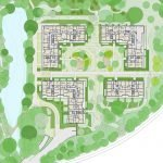 Ground Plan Ground Floor Residence with Premium Apartments For Sale in Brussels Watermael Boitsfort