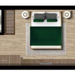 Ground plan Studio with Terrace for Sale Tivat Montenegro