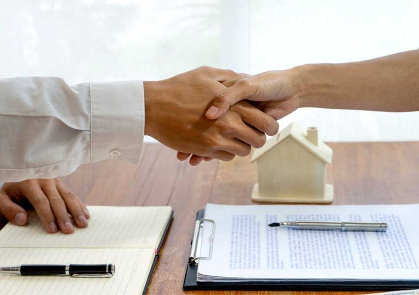 hire a property manager or letting agent and outsource rentals