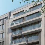 Immeuble avec studios nouvellement construits à vendre à Bruxelles près d'un quartier européen Location meublée comme investissement