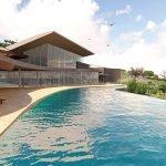 infinity pool of spa and wellness feature of hera bay luxury resort samos