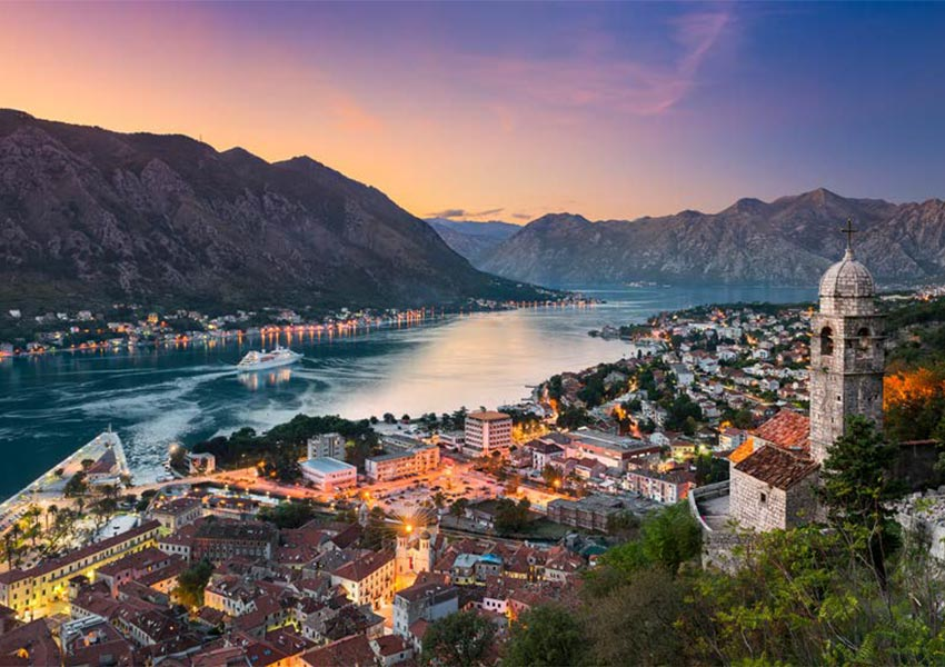 Kotor Old Town Full of Venetian Architecture Open Air Museum Protected By UNESCO