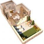 luxury one bedroom villa for sale on the island of samos ground floor