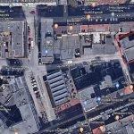 Plot Building Satellite Image Gelsenkirchen Germany