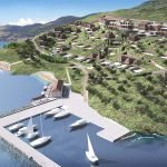 private marina at hera bay luxury resort 5 stars on samos island greece
