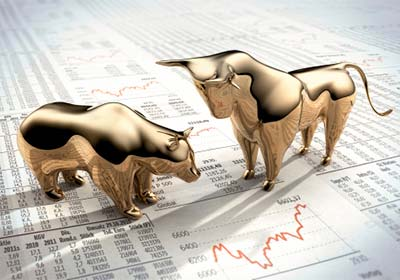 Shares As Investment Risks For Investors Bull Market Versus Bear Market