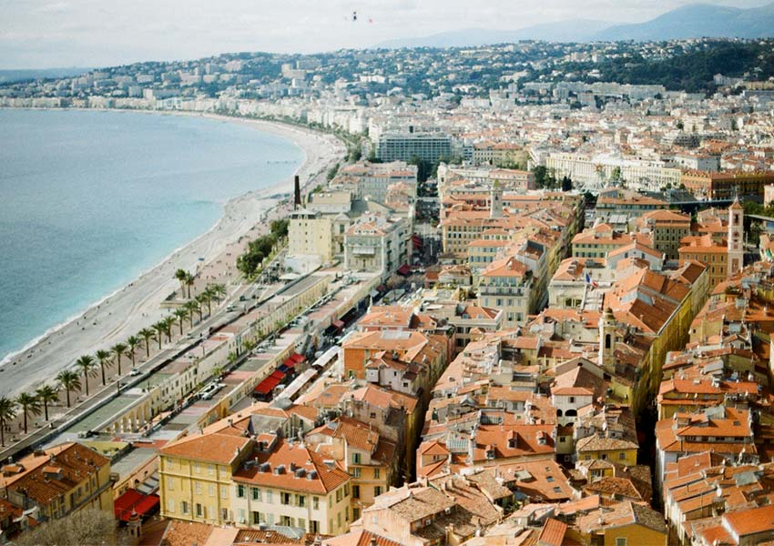 South of France Skyline of Nice Resort Recreational Property For Rent To Tourists