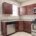 spacious wooden kitchen with all accessories and capacities for family rentals