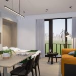 Studio à vendre à Bruxelles dans le quartier européen possible dans cette résidence de l'avenue Cortenbergh