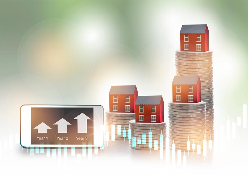 the importance of asset growth in purchasing a buy-to-let property is great