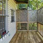 Wooden Balcony On The Ground Floor Value For Tenants